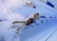 水泳で泳いだ距離をlengthで表す