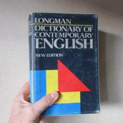 ロングマン英英辞典